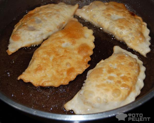 Рецепт чебуреков с фаршем с пошаговым