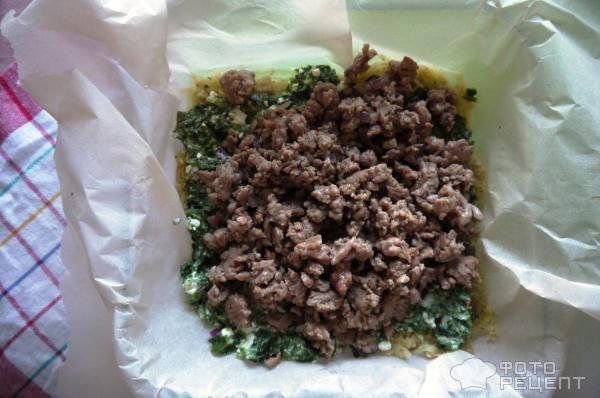 запеканка, форма, пергамент, как приготовить, картофель, шпинат, индейка