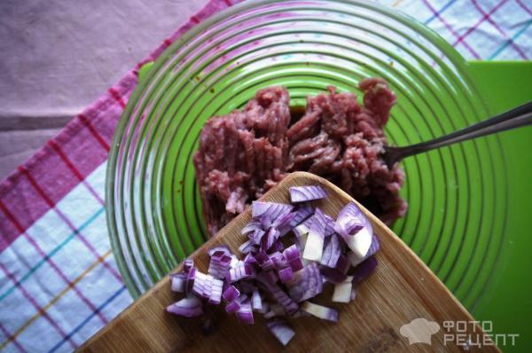 запеканка, индейка, лук, фарш, блюда из фарша, на скорую руку, с фото, по фото, пошаговый рецепт
