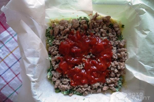 запеканка, форма, пергамент, как приготовить, картофель, шпинат, индейка, паста, томат, долмио, рецепты с долмио, dolmio, традиионный, болоньезе