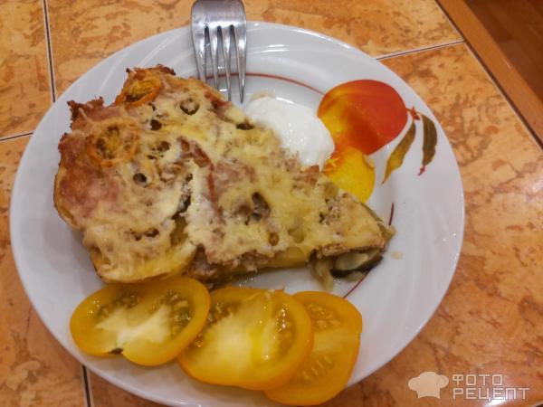 Блюда с картошкой и кабачками с фаршем