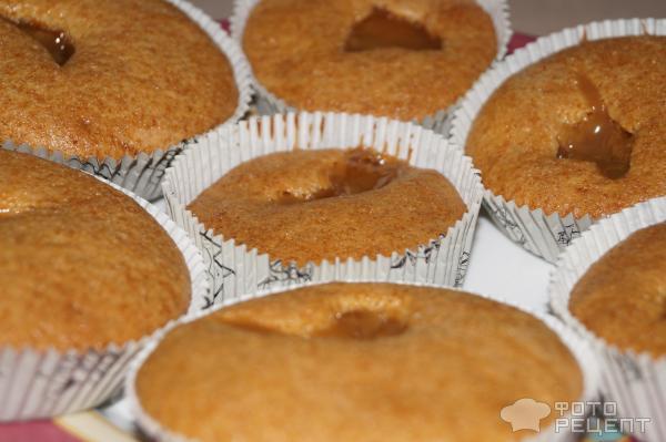 Рецепт кексов в силиконовых формочках с сгущенкой