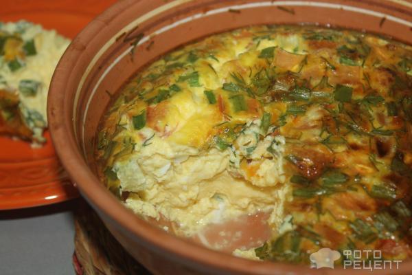 Приготовление омлета в духовке рецепты