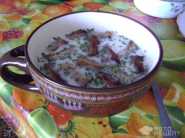 Рецепт сырный суп с ветчиной