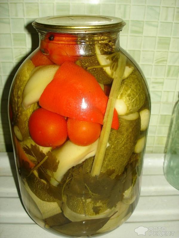 зиму с консервированные овощи фото рецепты на