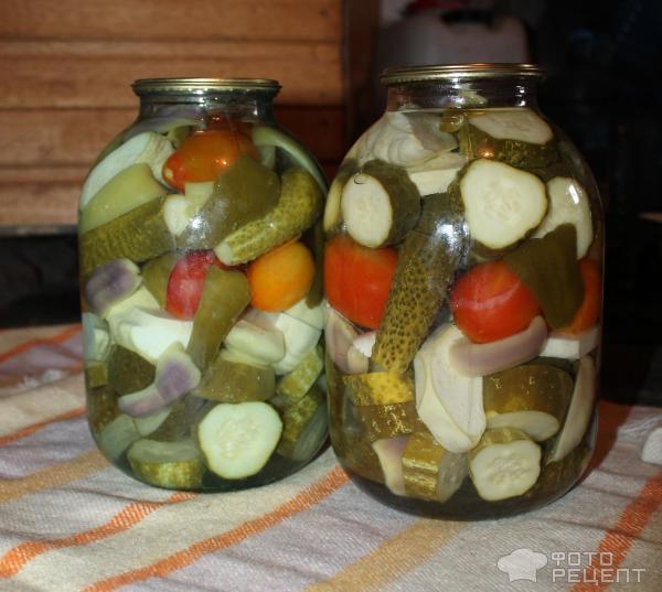 Как сделать ассорти из овощей на зиму с лимонной кислотой