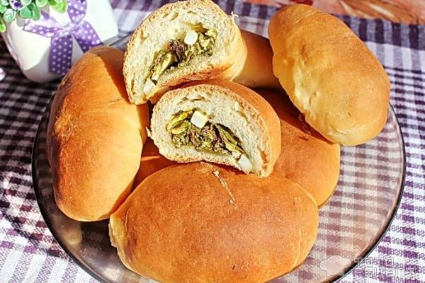 Пирожки с щавелем из дрожжевого теста пошаговый рецепт