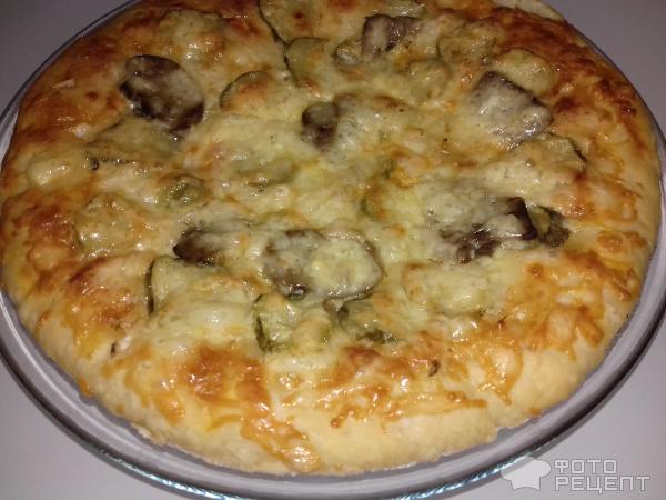 Нежное дрожжевое тесто для пиццы