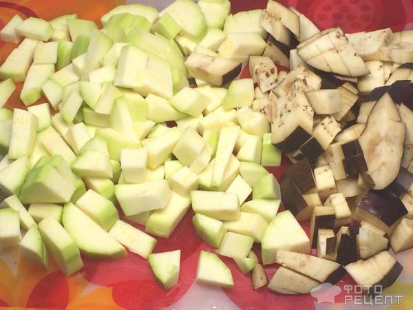 Рис с кабачками и баклажанами рецепт