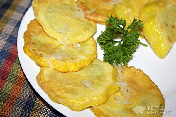 патиссоны жареные с чесноком пошаговый рецепт с фото