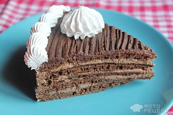Торт на кефире на сковороде рецепт