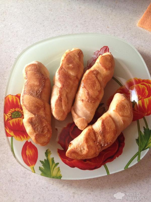 Домашние сосиски в тесте рецепт с фото