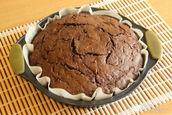 Шоколадный пирог с пропиткой