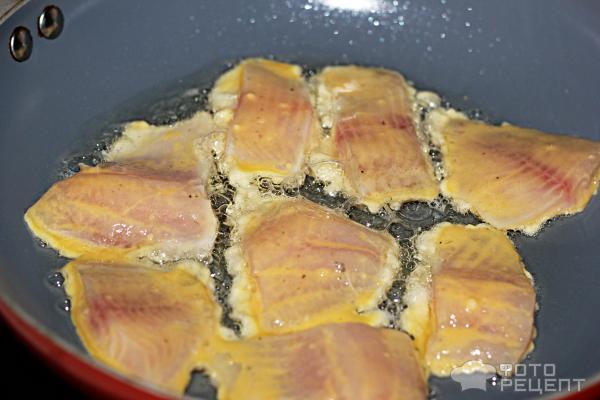 Рецепт тилапия в кляре пошагово в