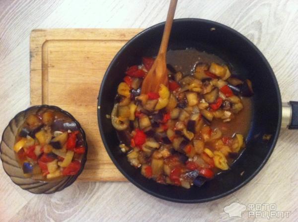 Баклажаны тушеные помидорами калорийность