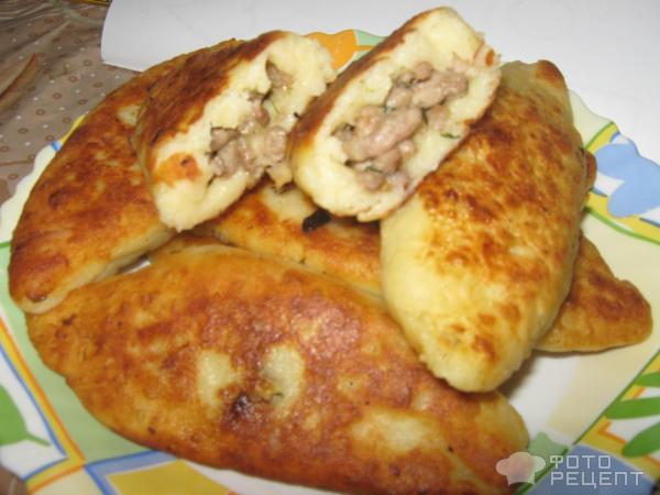 Пирог с фаршем на сковороде рецепт с