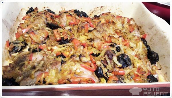 Филе индейки с черносливом в духовке рецепты