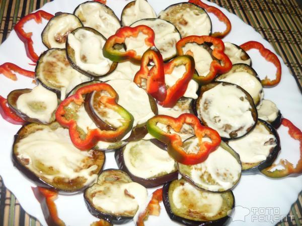 Баклажаны рецепты жареные с майонезом и чесноком рецепт с пошагово