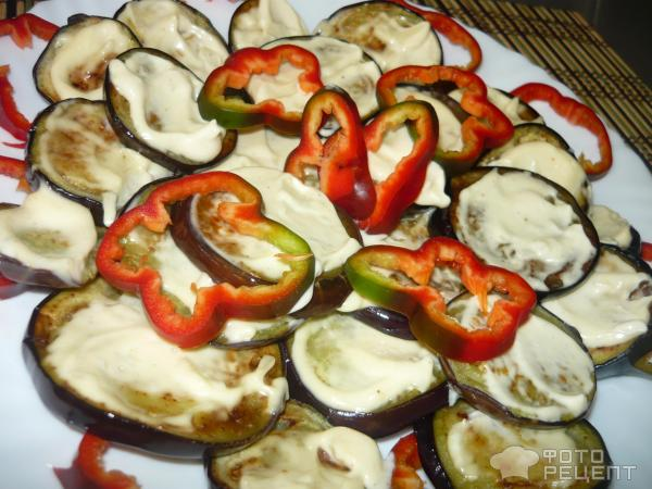 Баклажаны жареные с чесноком и помидорами рецепт пошагово
