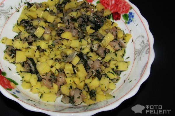 Курник маленький из курицы с картофелем пошаговый рецепт с 131