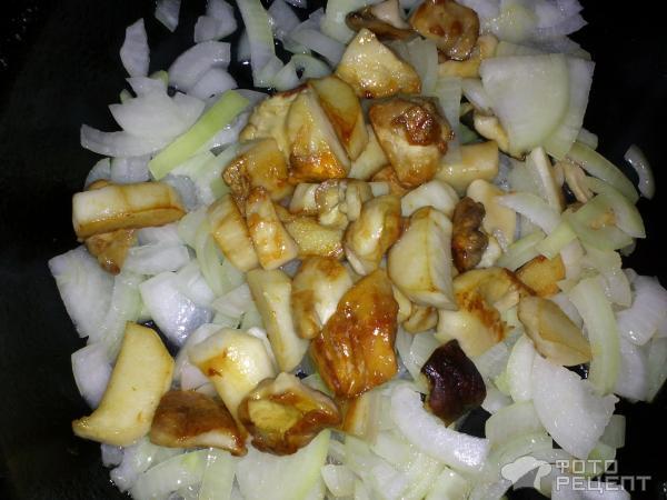 Грибы белые с картошкой в духовке рецепт