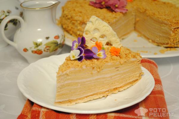 Медовый торт мягки рецепт