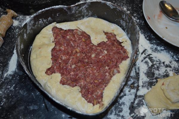 Пироги со свиным фаршем рецепт