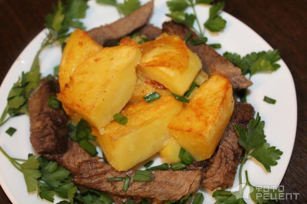 Мясо в духовке по деревенски рецепт в