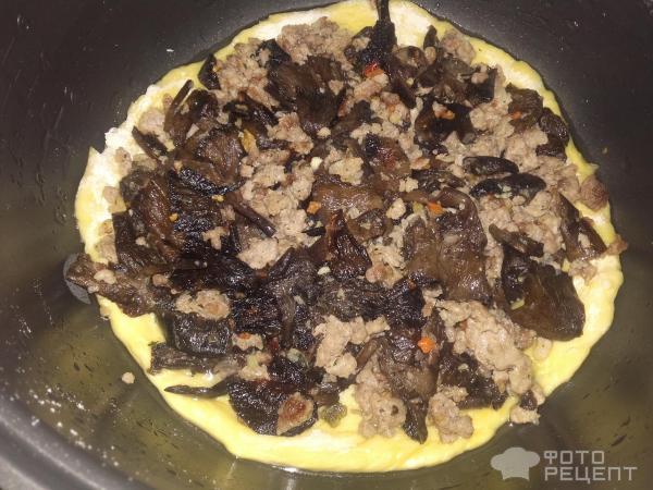 Рецепты кальцоне с грибами