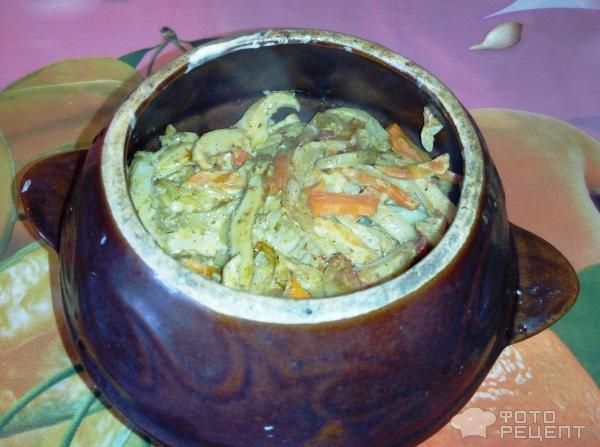 рецепты глиняных горшочках фото