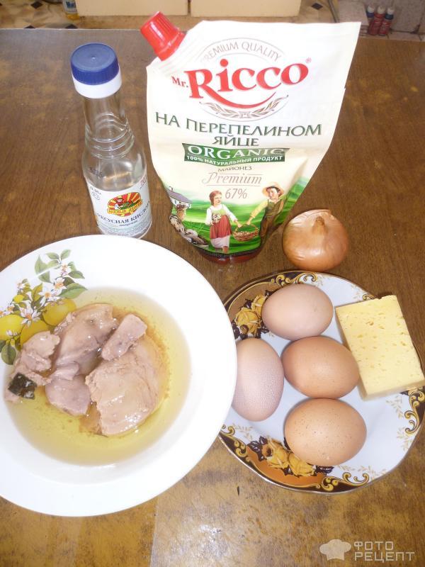 Рецепты с печенью трески с фото пошаговые