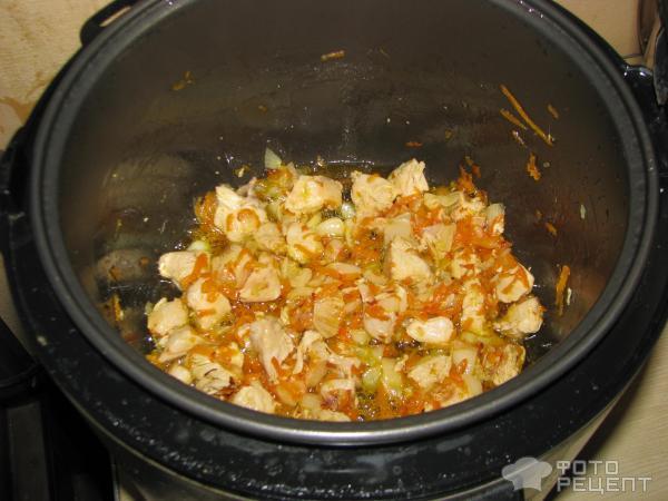 Плов из курицы в мультиварке-скороварке рецепты пошагово
