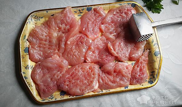 Жареное филе индейки рецепты фото