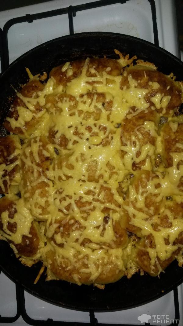 картофельные рулетики с фаршем рецепт с фото