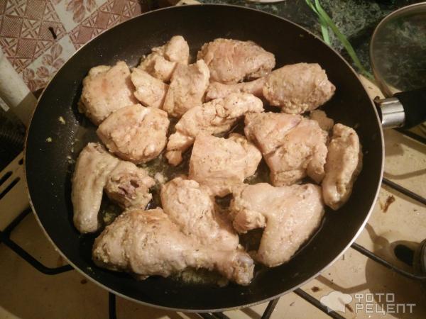 жареные окорочка на сковороде с майонезом рецепт с фото