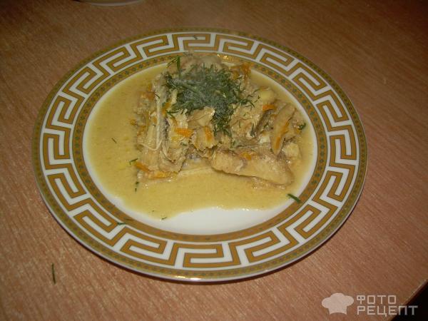 Рыба, тушеная с овощами фото