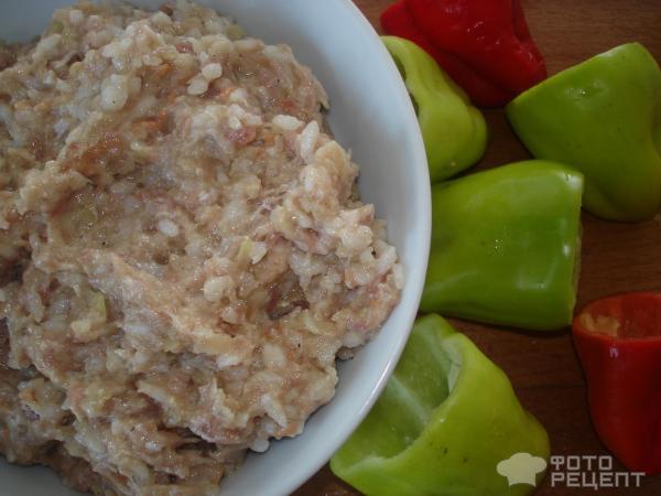 Перец рецепт с рисом и фаршем в духовке
