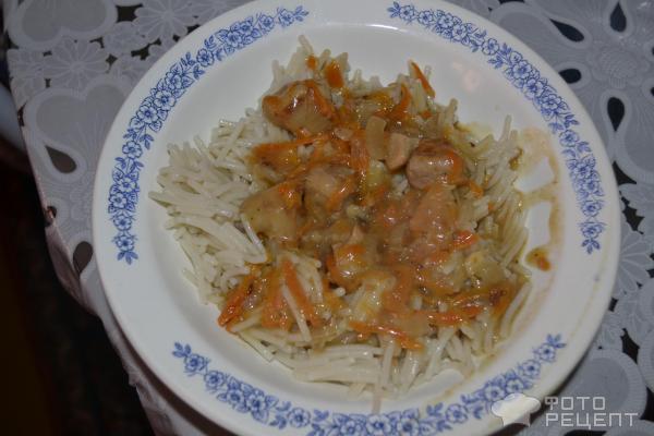 Подлива к макаронам без мяса с томатной пастой рецепт