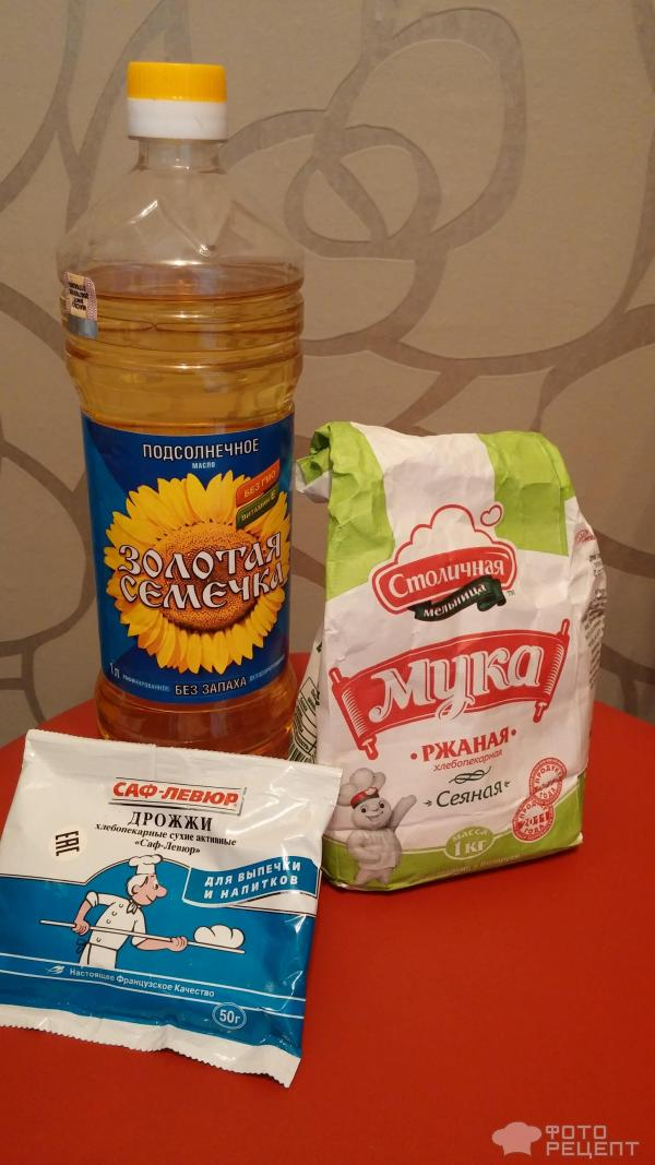 Хлеб из сырых дрожжей в домашних условиях в духовке рецепт