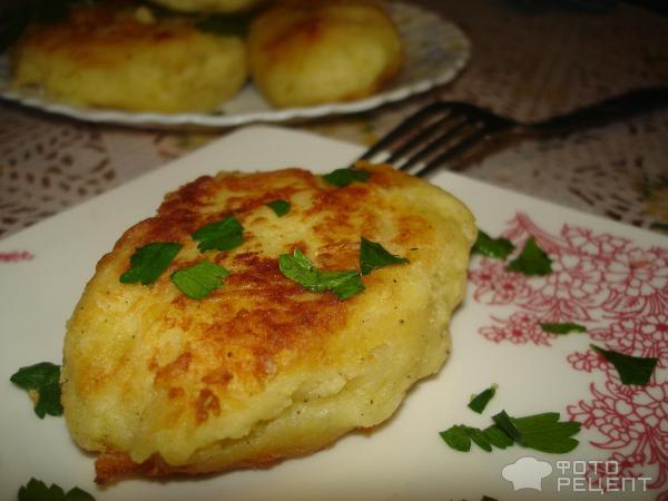 Рецепт котлеты в картофельном пюре