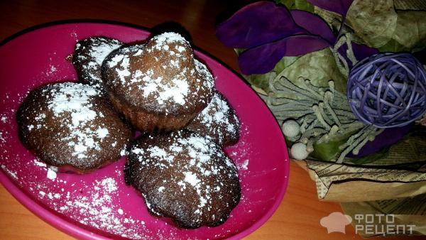 Рецепт шоколадных кексов фото