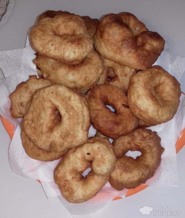 Пончики из дрожжевого теста рецепт с фото