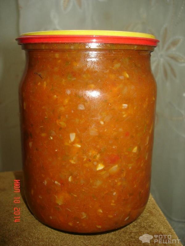 Аджика без помидор на зиму рецепт