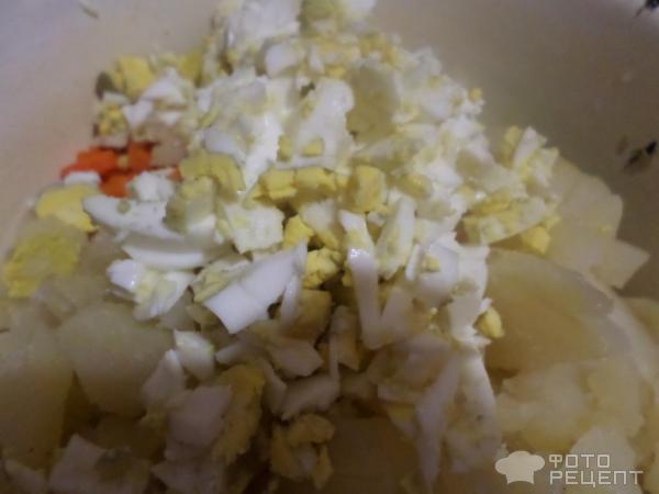 Салат зимний со свежим огурцом рецепт