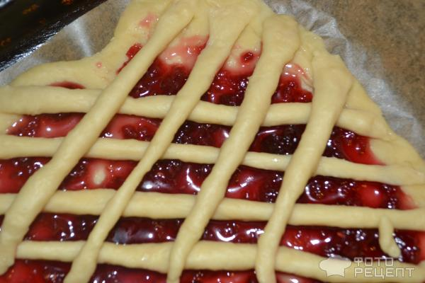 Пирог с вареньем фото