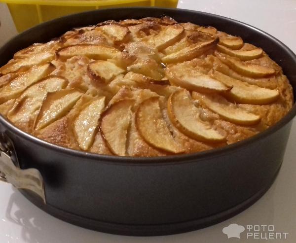 Быстрый пирог с яблоками в мультиварке рецепты с фото на скорую руку