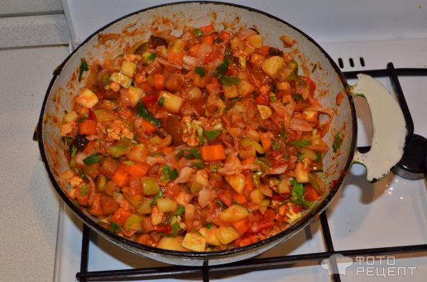 рецепт с фото диетическое овощное рагу