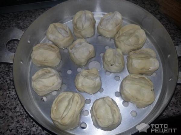 Манты в духовке рецепт пошагово в