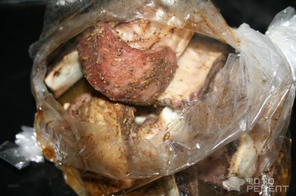 Как приготовить говяжьи ребрышки в рукаве