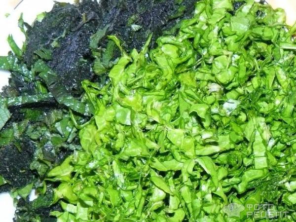 Зеленый суп с крапивой, мангольдом и щавлем рецепт фото